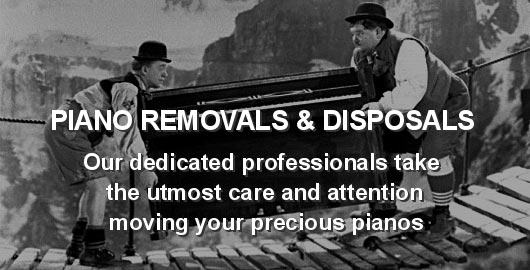 Piano Removals and Disposals